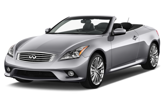 Slide 1 of 14: 2013 Infiniti G Convertible