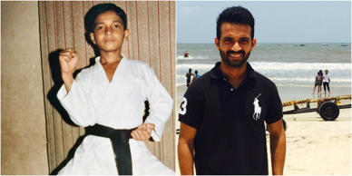 Sport stars: Then and now