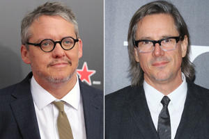Screenwriters Adam McKay (left) and Charles Randolph