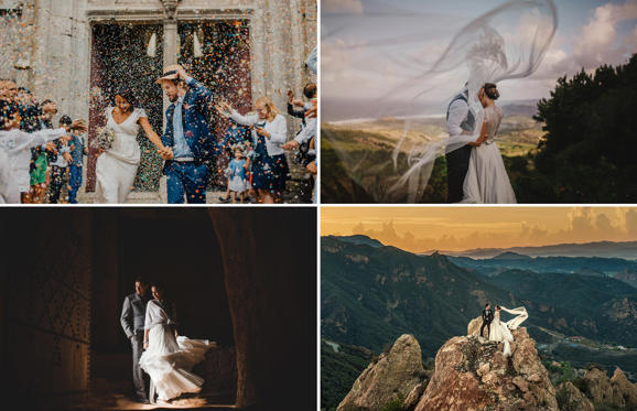 Слайд 1 из 51: Top 50 wedding photos of 2015