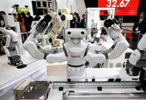 More and more robots will take the place of more human workers this year.