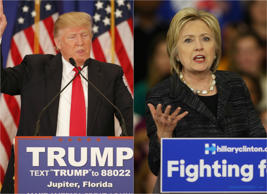 Donald Trump and Hillary Clinton continue dominance in 2016 primaries.<br />