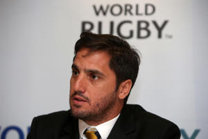 World Rugby vice-chairman Agustin Pichot