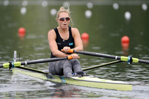 Single sculler Emma Twigg
