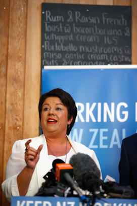 Labour is still hounding Paula Bennett over the information leak about a police inquiry