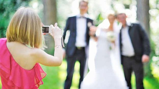A strange idea, taking a photo of the photographer…