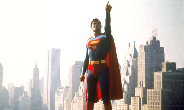 Slide 1 of 32: 'Superman' film - 1978 'Superman' -  Christopher Reeve