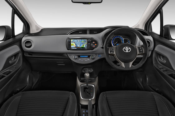 Slide 1 of 11: 2014 Toyota Yaris Hybrid