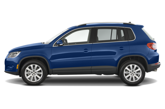 Slide 2 of 25: 2010 Volkswagen Tiguan