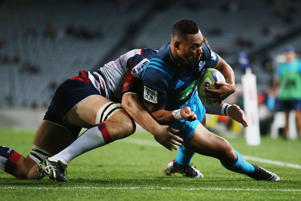 Tevita Li in action for the Blues.