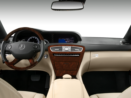 Slide 1 of 11: 2010 Mercedes-Benz CL-Class