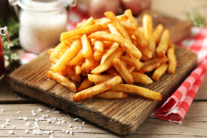 Just like potato chips, French fries contain acrylamide, a substance created by ...