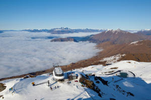 Coronet Peak Ski Field, Queenstown, Central Otago, South Island, New Zealand