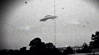 Photograph of the supposed Westall UFO encounter where more than 200 students and teachers at two Victorian state schools allegedly witnessed an unexplained flying object which descended into a nearby open wild grass field. Dated 1966. (Photo by: Universal History Archive/UIG via Getty Images)
