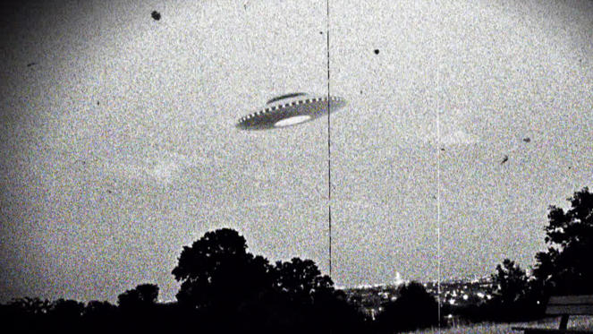 Slide 1 of 21: Photograph of the supposed Westall UFO encounter where more than 200 students and teachers at two Victorian state schools allegedly witnessed an unexplained flying object which descended into a nearby open wild grass field. Dated 1966. (Photo by: Universal History Archive/UIG via Getty Images)