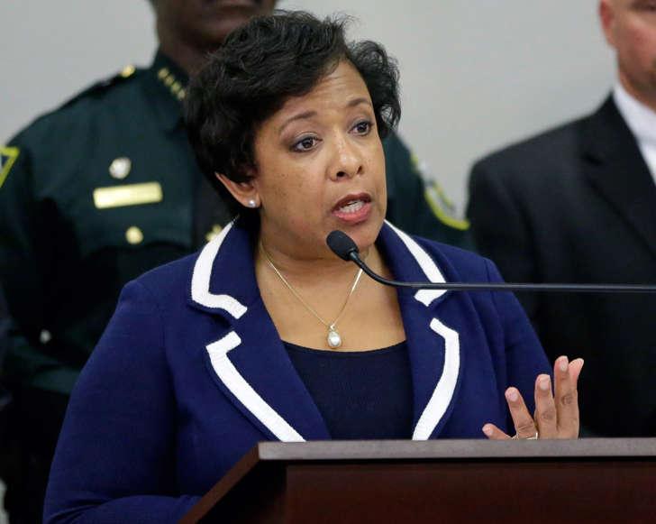Attorney General Loretta Lynch at a news conference  in Orlando, Fla.