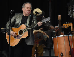 Singer Paul Simon performs at Forest Hills Stadium in the Queens borough of New York on June 30, 2016
