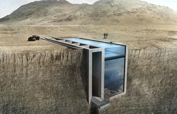 Bild 1 av 51: We all enjoy a little privacy from time to time, and some architects have taken this concept to the extreme with these truly incredible hidden homes.