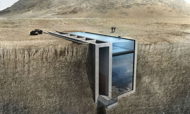 Lysbilde 1 av 54: We all enjoy a little privacy from time to time, and some architects have taken this concept to the extreme with these truly incredible hidden homes.