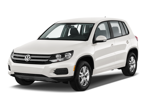 Slide 1 of 15: 2014 Volkswagen Tiguan