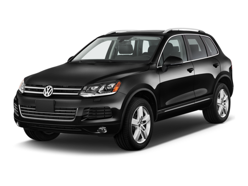 Slide 1 of 13: 2014 Volkswagen Touareg
