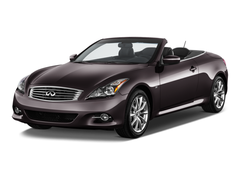 Slide 1 of 12: 2014 Infiniti Q60 Convertible