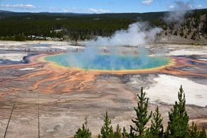 Yellowstone-Nationalpark , Grand Prismatic Spring, USA