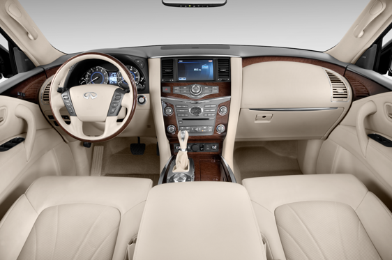 Slide 1 of 11: 2014 Infiniti QX80