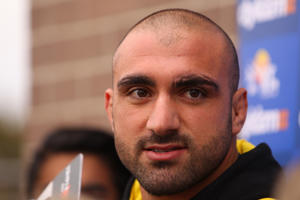 Parramatta club captain Tim Mannah
