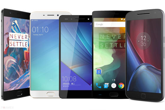 Slide 1 of 25: Best smartphones under £350 lead