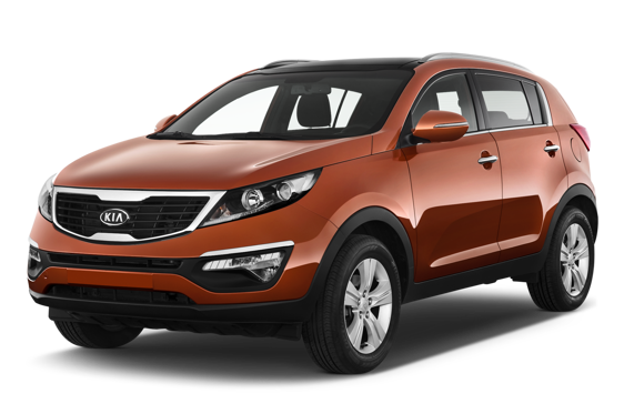 Slide 1 of 14: 2010 KIA Sportage