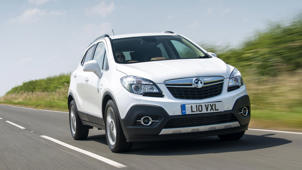 Vauxhall Mokka: There's a new Vauxhall Mokka X on the way, but the current Mokka is available with 0% finance. Vauxhall's Flexible Finance is a simple thing: you choose the car, deposit and length of agreement. What could be easier? Best of all – it's 0% finance and you get £500 of free fuel.