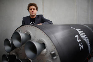 Peter Beck from Rocket Lab.
