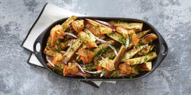 "<p>Didn't think fries could get any better? Toss them in a flavor-packed Indian seasoning and your taste buds will thank you.</p><p><a href=""http://www.goodhousekeeping.com/food-recipes/a38397/masala-wedge-fries-recipe/"">Get the recipe for Masala Wedge Fries »</a> </p>"