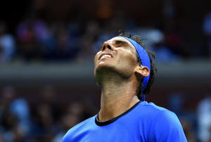 Rafael Nadal suffered a shock fourth-round exit from the US Open, after being forced out of Roland Garros and Wimbledon this year because of a wrist injury