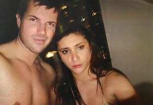 Supplied image obtained Tuesday, Oct. 11, 2016 of Gable Tostee and Warriena Wright inside his 14th floor Surfers Paradise apartment just hours before the New Zealand tourist plummeted to her death from the balcony on August 8, 2014. Gable Tostee is on trial in Brisbane Supreme Court after pleading not guilty to Ms Wright's murder.