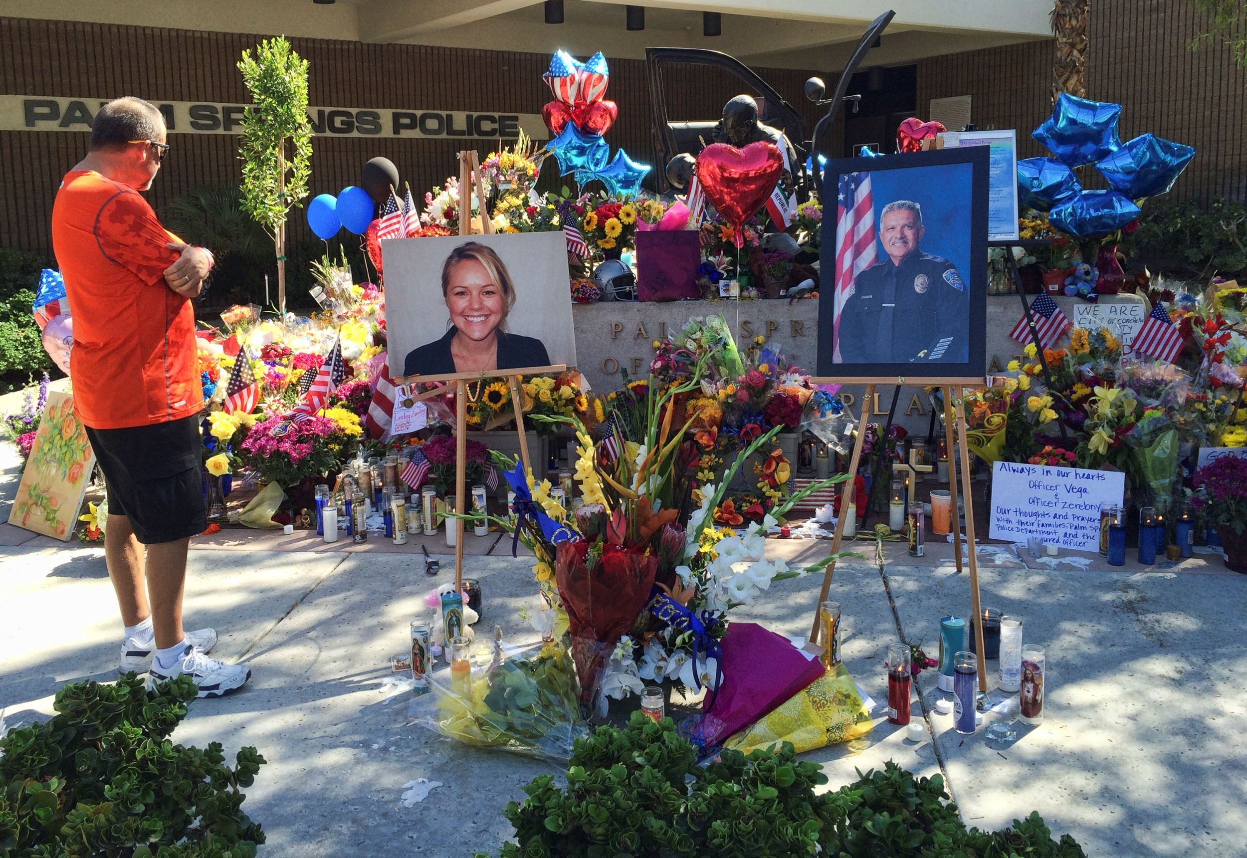 Murder charges in Palm Springs officers' deaths