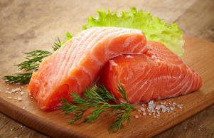 Some farmed salmon has been found to be laden with polychlorinated biphenyls whi...