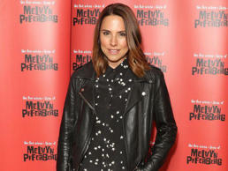 Mel C alias Sporty Spice en couverture du magazine Love. Photo datée du 30 août ...
