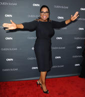 Oprah Winfrey attends the premiere of 'Queen Sugar' at Warner Bros. Studios on A...