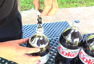 Famous Diet Coke and Mentos video recreated