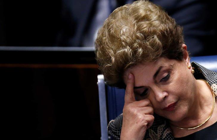 Condenada, Dilma está inelegível por 8 anos