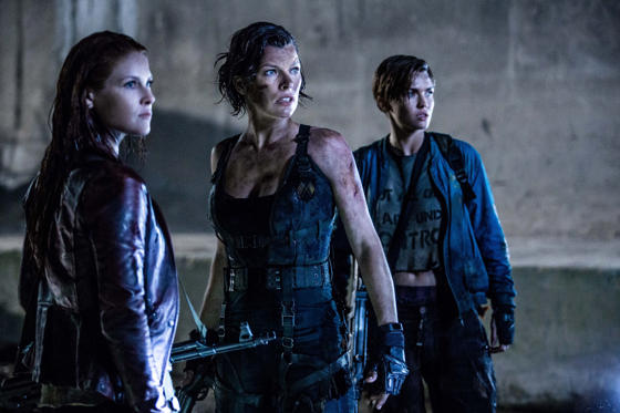 Slide 2 dari 13: Ali Larter, Milla Jovovich and Ruby Rose star in Screen Gems' RESIDENT EVIL: THE FINAL CHAPTER.