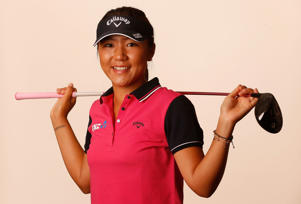PHOENIX, AZ - MARCH 18: Lydia Ko of New Zealand poses for a portrait ahead of the LPGA Founders Cup at Wildfire Golf Club on March 18, 2015 in Phoenix, Arizona. (Photo by Christian Petersen/Getty Images)