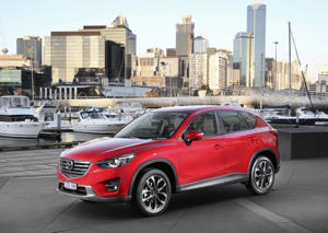 Supplied internal and external images of the Mazda CX-5