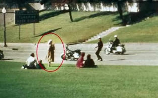 When the drama of John F. Kennedy's assassination unfolded in Dallas, November 22, 1963, this unknown woman was there and filmed the whole thing. The FBI was never able to locate her.