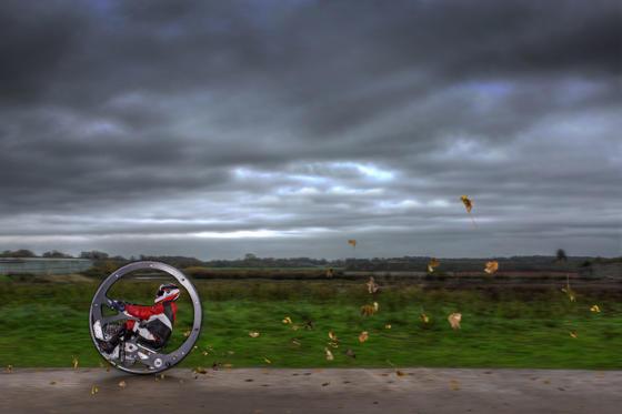 Fastest Monowheel- Kevin Scott