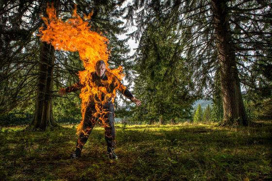 Longest duration full-body burn (without oxygen)- Josef Todtling