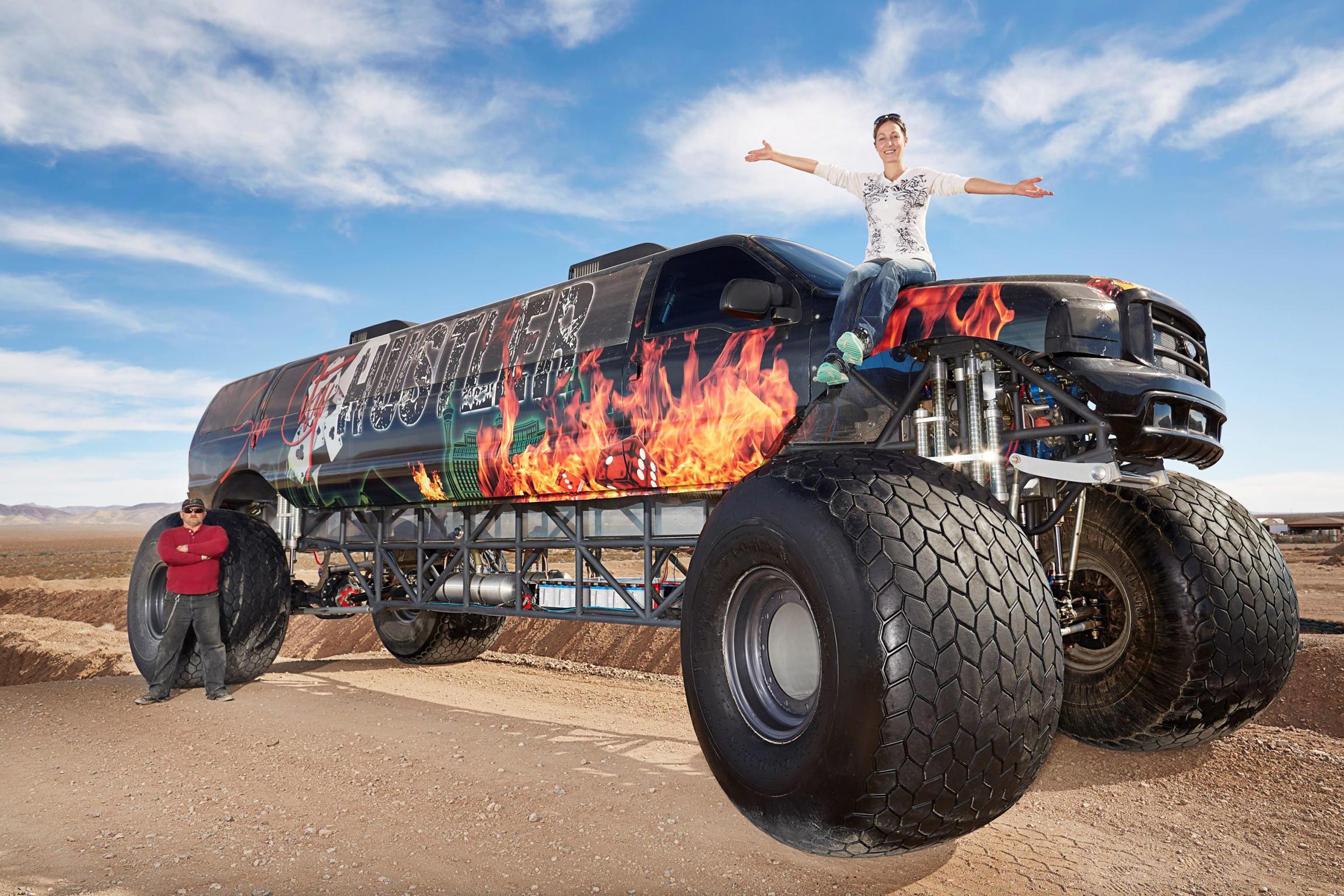 Longest Monster Truck