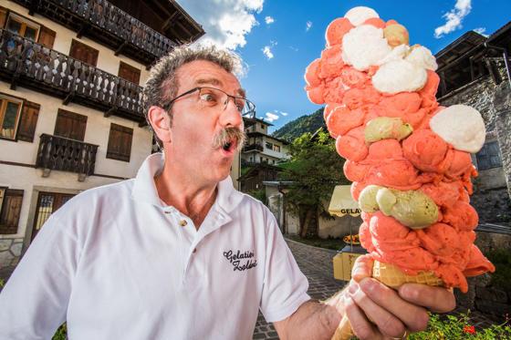 Most Ice Cream Scoops Balanced on a Cone- Dimitri Panciera